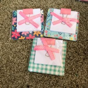 Other - Cute little clipboards set of 3